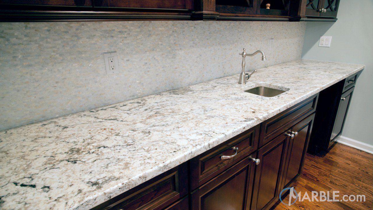 Snow White Granite Kitchen Countertops | Granite | Pinterest | White ...