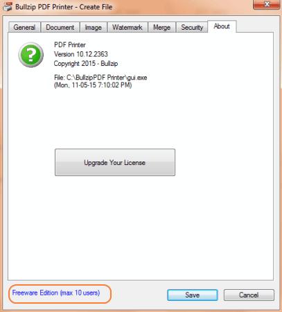 bullzip pdf printer mac download