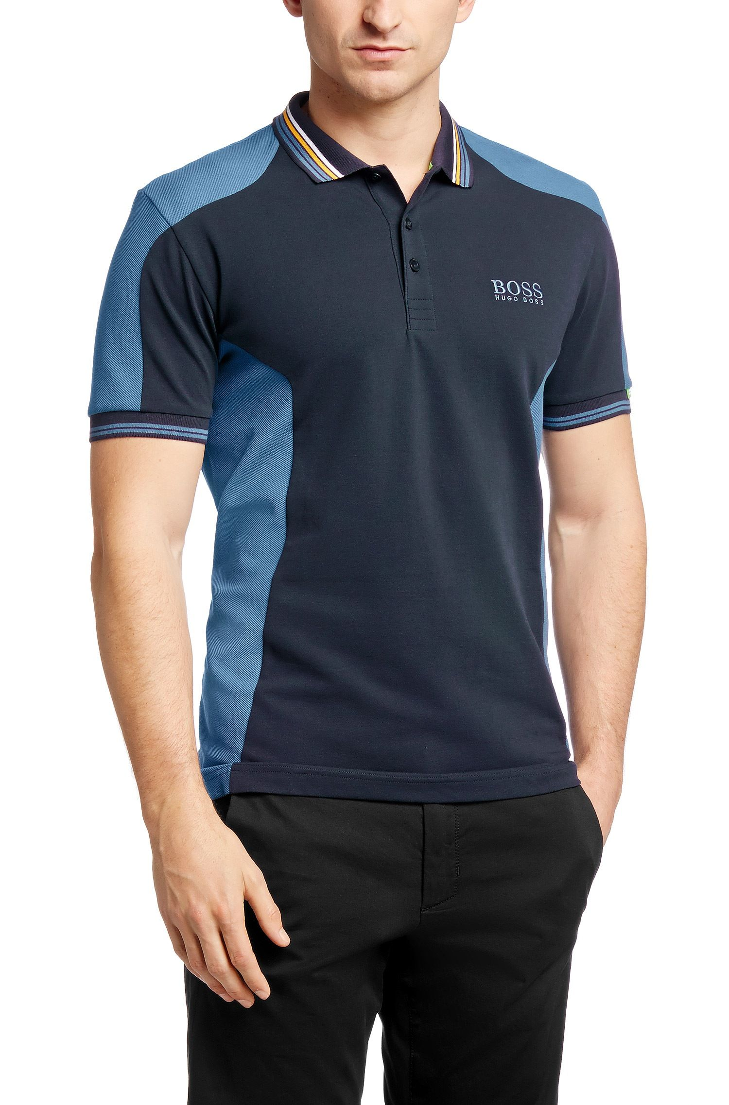67f7c8e37 Regular-fit golf polo shirt 'Paddy MK' from the Martin Kaymer Collection