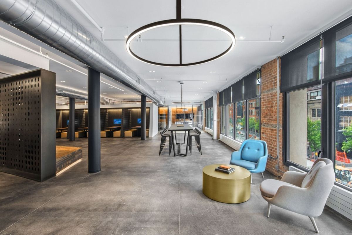 Office Tour Argo Group Offices New York City Modern Office