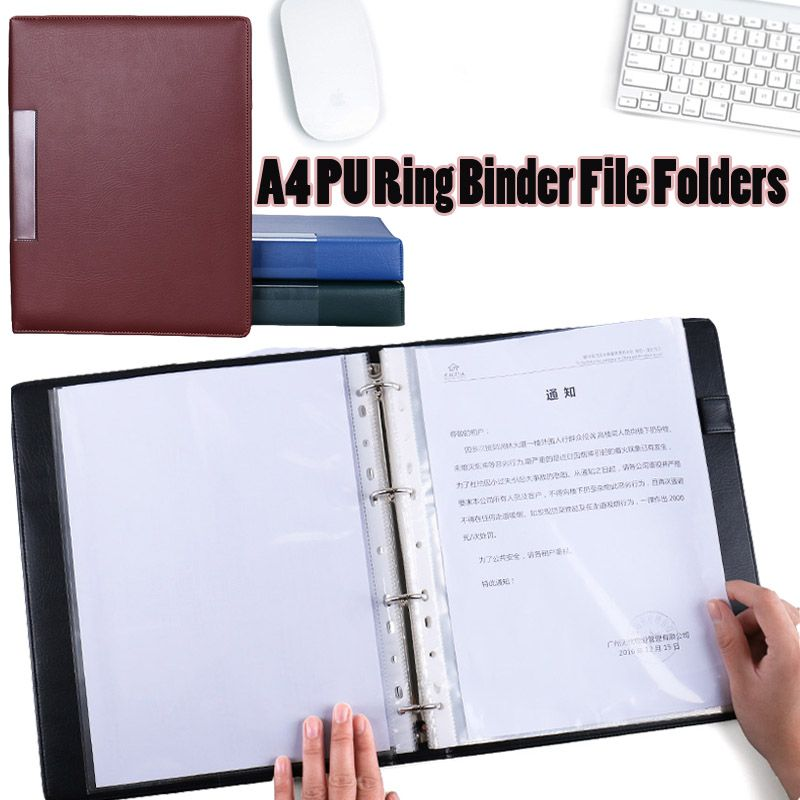 File Folder Waterproof A4 Plastic File Folder Zipper Bag Paper File Bags Document Folders Papelaria Cute Korean Stationery Supplies Modern Design Filing Products