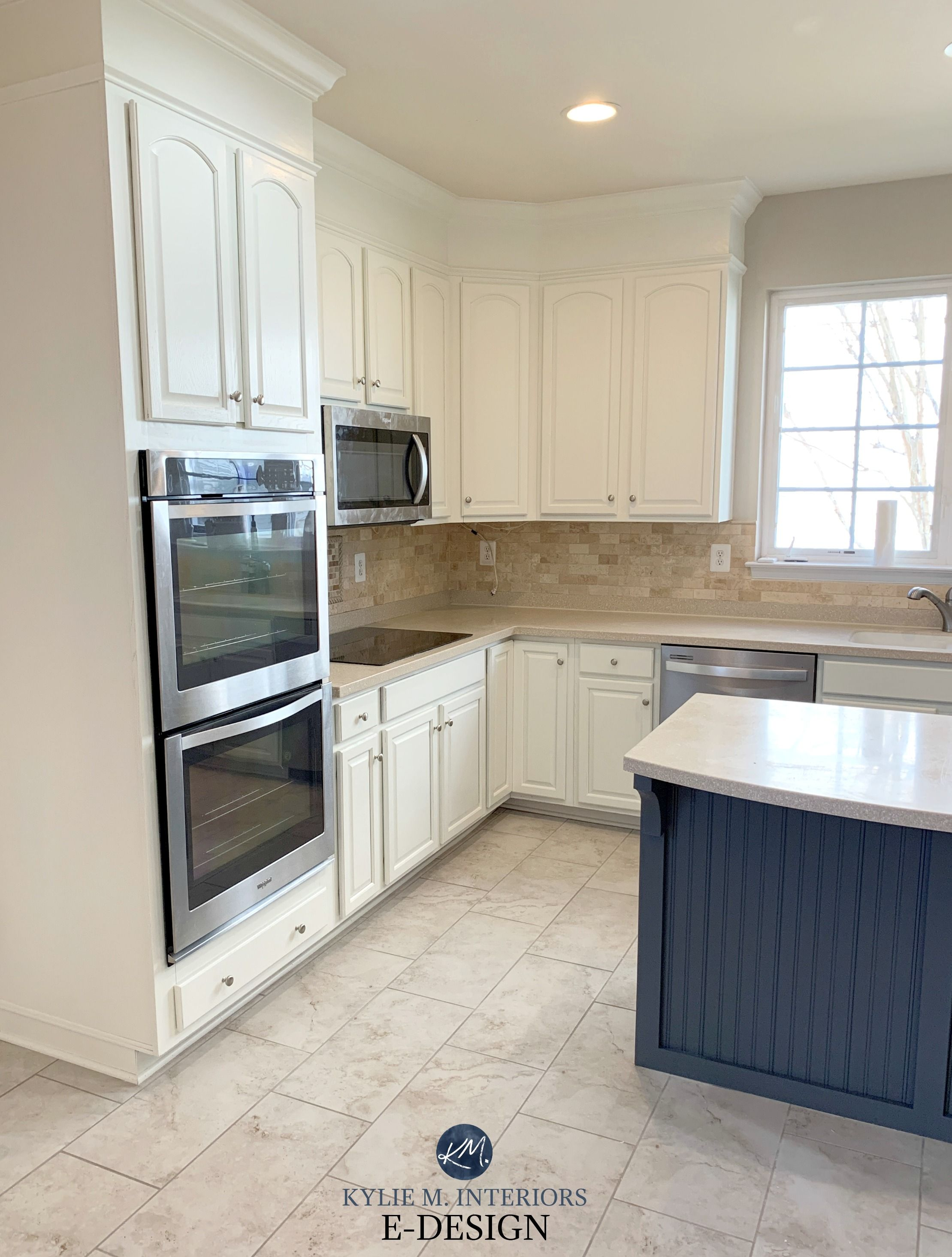 E Design 3 Painted Oak Maple Kitchen Cabinet Projects Beige Kitchen Maple Kitchen Cabinets Kitchen Cabinet Styles