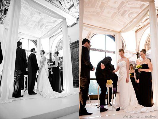 Jewish Wedding Black And White At Chicago Cultural Center Entries Creativo Blog