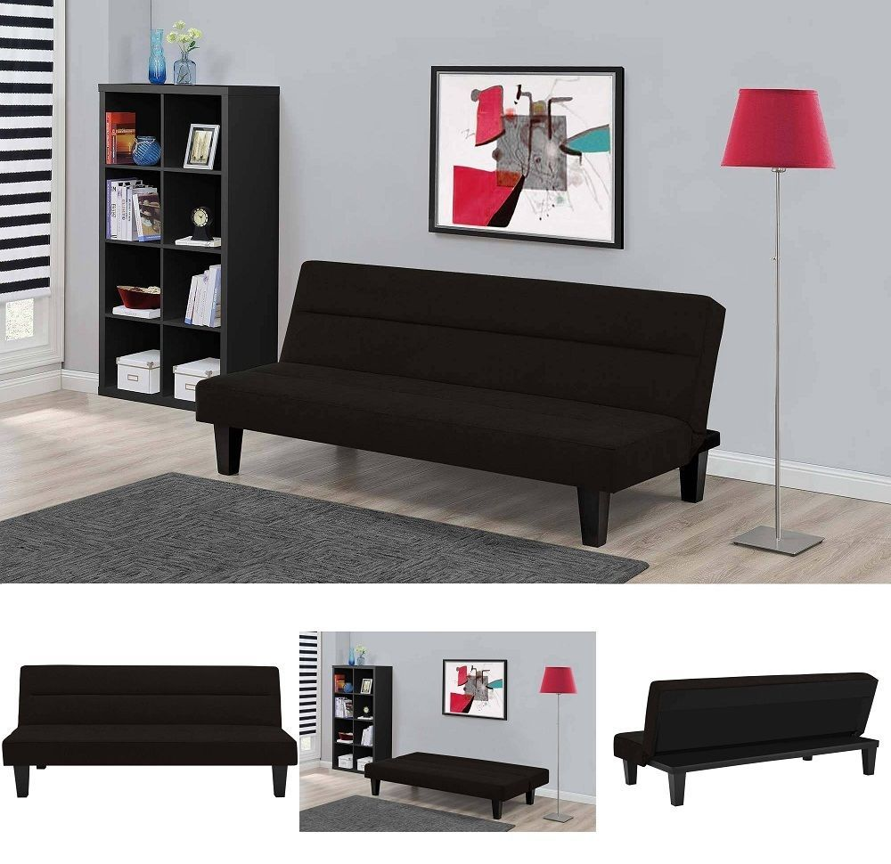 Sofa bed sleeper convertible couch futon microfiber living room