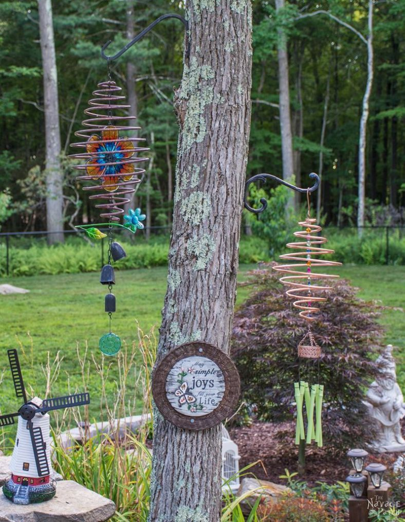 Coiled Copper Wind Chimes | Gardens, Crafts and Upcycled garden