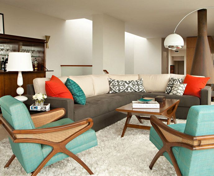 Beautiful Mid Century Modern Decorating Ideas Part - 3: Mid Century Decorations   Mid-Century Modern Style Decorating - Inspired By.