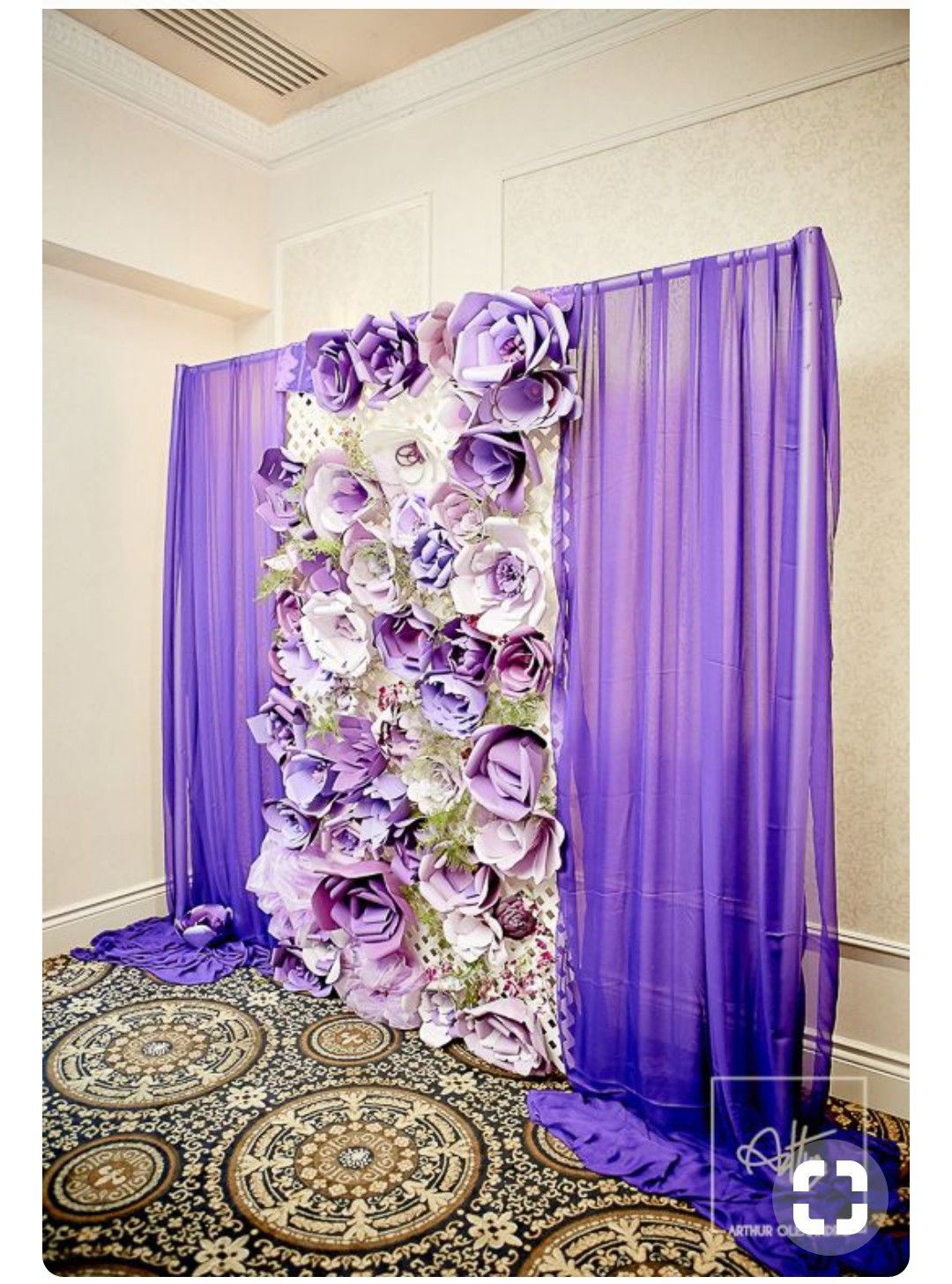 Wedding decorations stage backdrops october 2018 Pin by Patsy Montesino on backdrops in   Pinterest  Paper