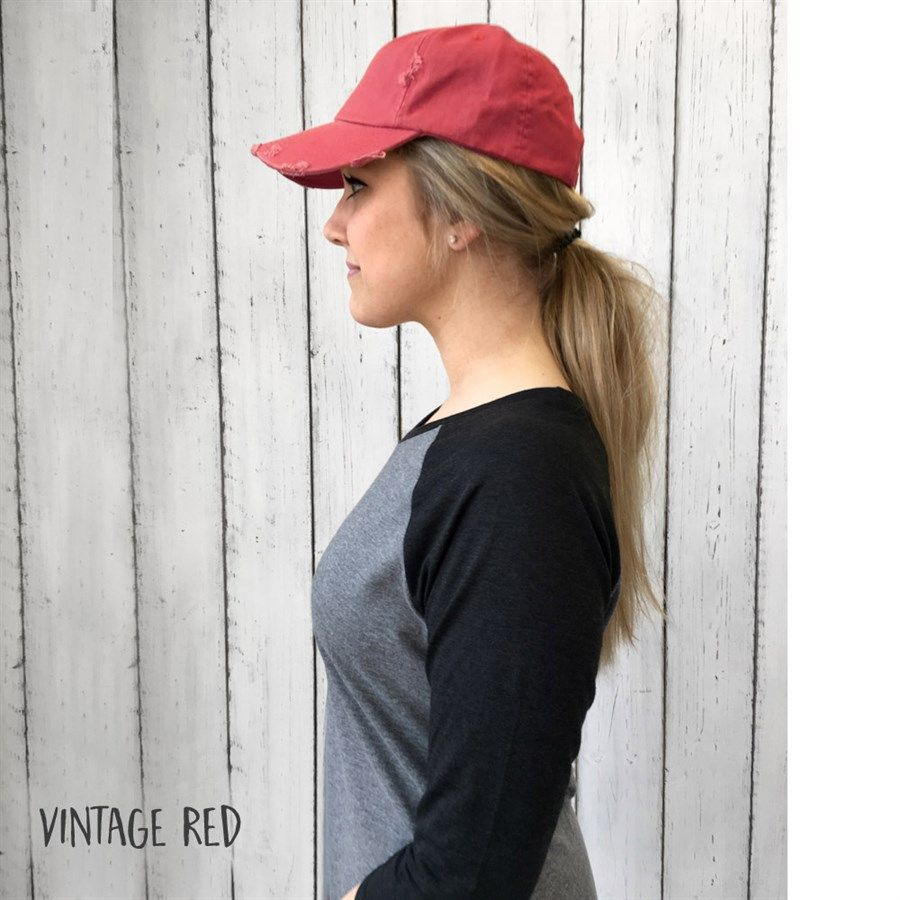 Vintage-style baseball caps for summer, oh yeah! @annamariahouse