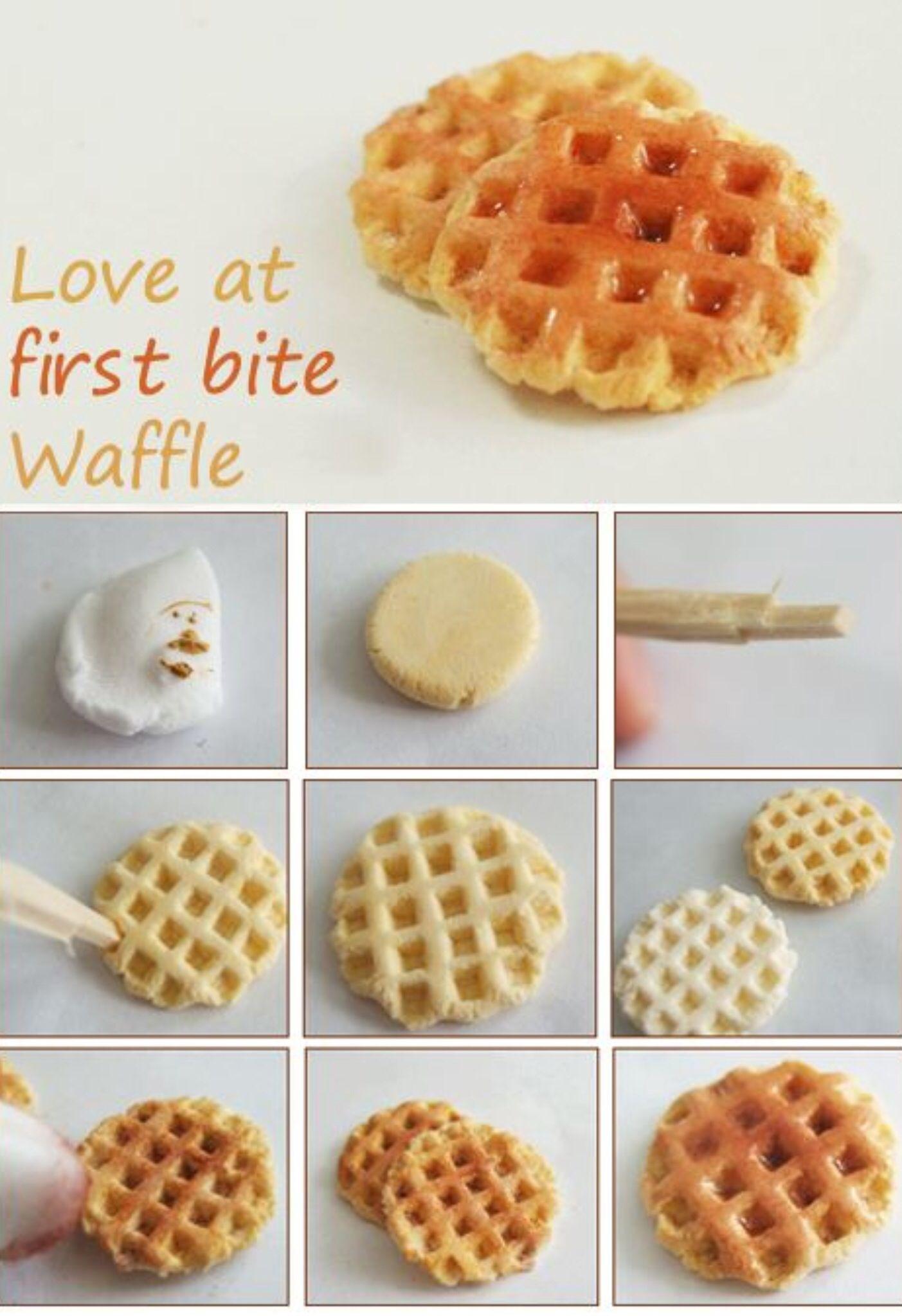 waffle fondant tutorial
