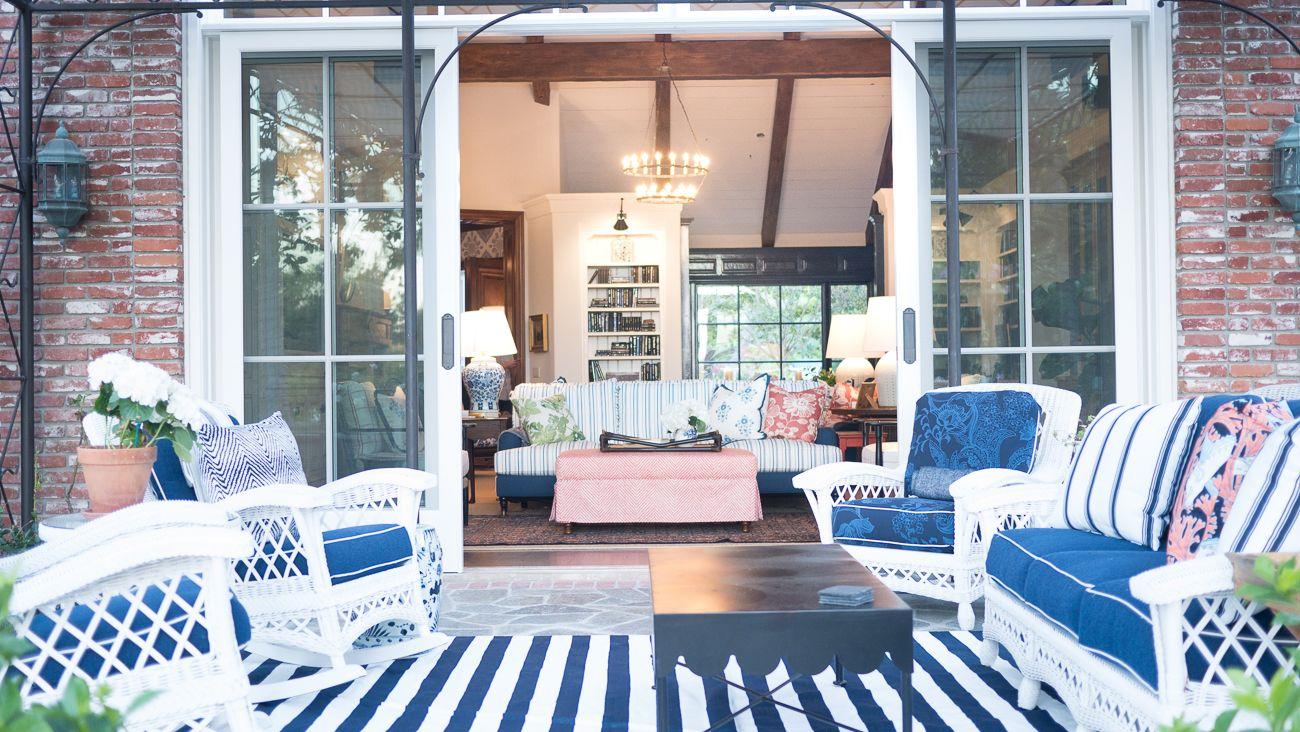 Hampton's Restored - Kathy Ann Abell Interiors   San Diego   Traditional Hampton's   Outdoor Seating