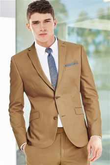 Camel Brown Suit Suit La