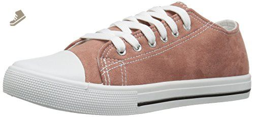 Qupid Women's Narnia-01 Fashion Sneaker, Mauve Suede, 7.5 M US - Qupid sneakers for women (*Amazon Partner-Link)