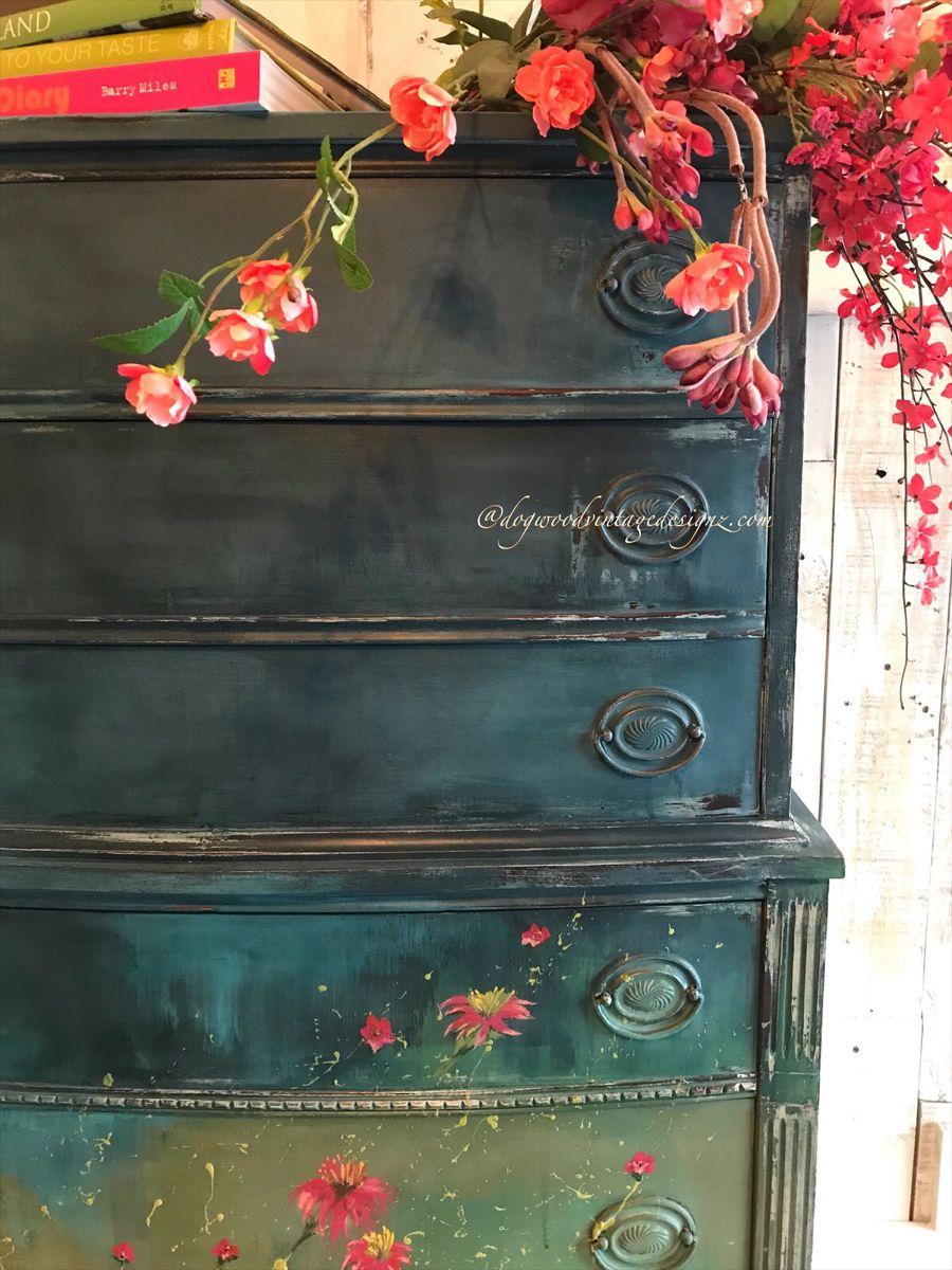 #rusticelegance #bohogrunge #furnitureartist #textured #layered #paintedfurniture #upcycled #furnitureflip #antiquedresser #design #handpaintedfurniture #patina #etsyshop #vintagefurniture