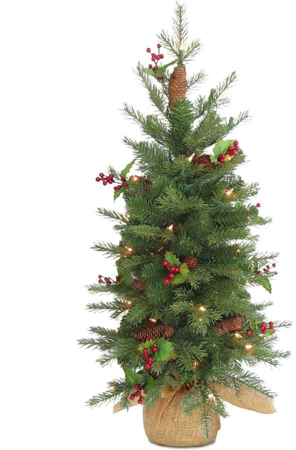 Nordic National Tree Company 3-ft. Spruce Pre-Lit Artificial Christmas Tree  #Company#ft#Tree - Nordic National Tree Company 3-ft. Spruce Pre-Lit Artificial