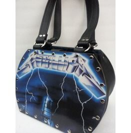 Metallica Ride The Lightning Backstage Bag Record Purse  holy god, awesome!