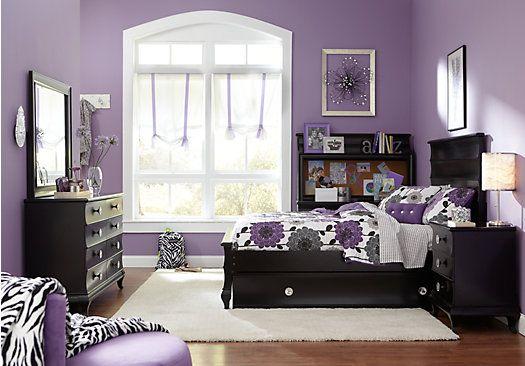 Bedroom Design Black Furniture Shop For A Milan Black 5 Pc Full Bedroom At Rooms To Go Kidsfind