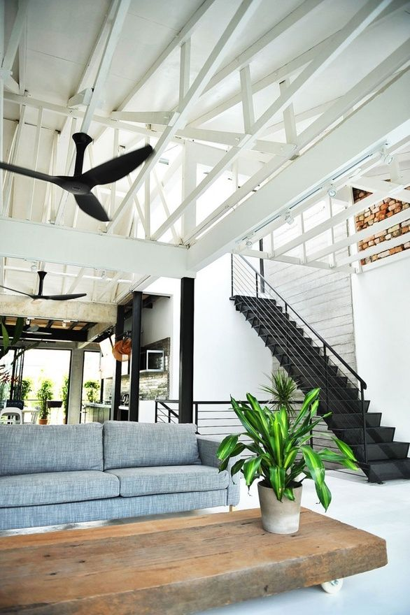 remain simple, penthouse, warehouse, open space, espace ouvert, loft, apartment