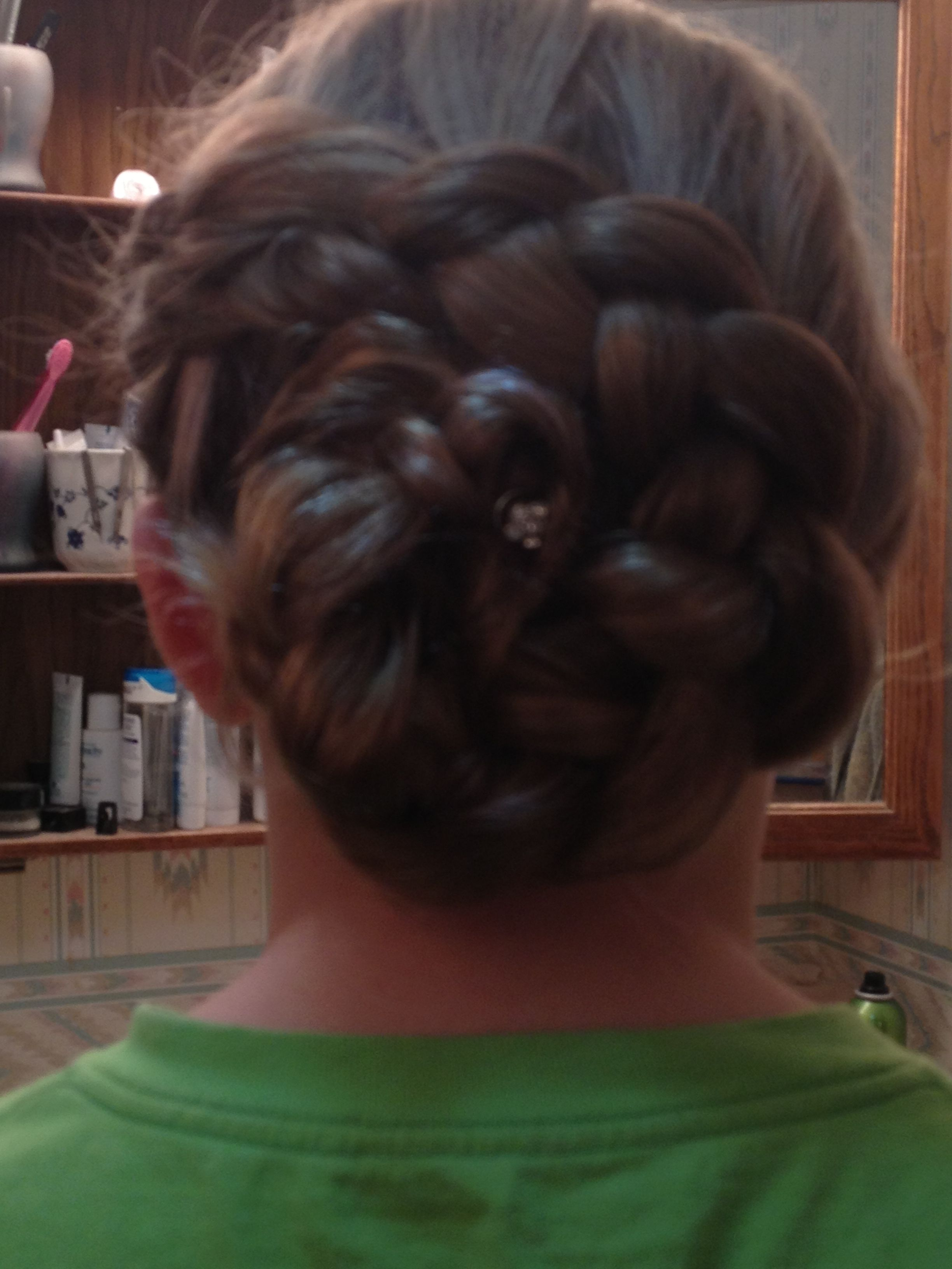 I said i could do that so i did braids and hair pinterest