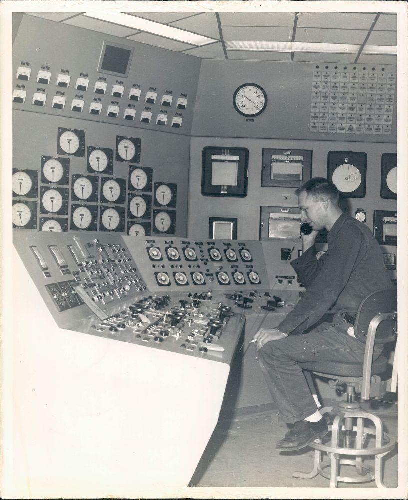 """INDUSTRY COLLECTION: """"Control Room Atomic Power Plant"""
