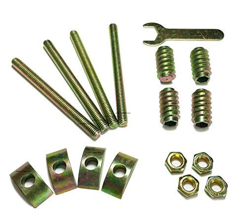 Bed Rail Headboard Assembly Nuts Bolts Crescent Nuts Bed