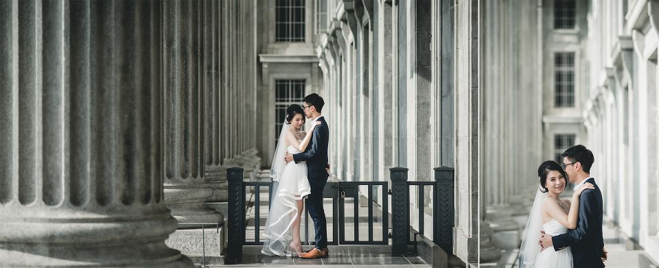 National Gallery Of Singapore Pre Wedding Photoshoot Prewedding Photography Pre Wedding Photos