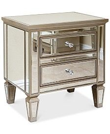 Furniture Marais Mirrored Furniture Collection & Reviews ...