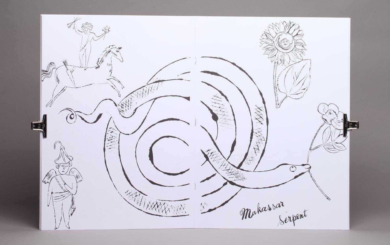 Andy Warhol, 85 años. @editorialgg (Dibujo de «Un libro para ...