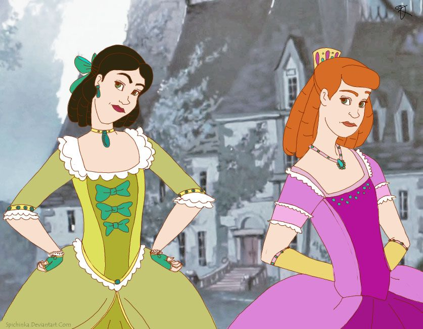 Картинки сестер золушки