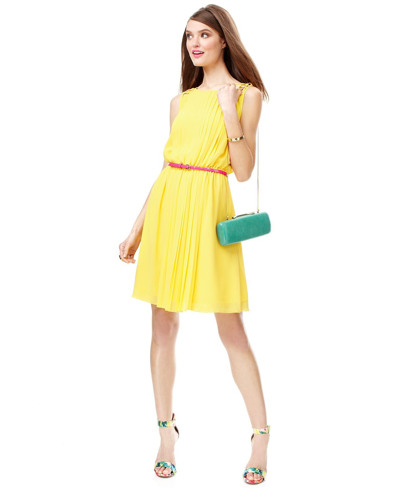 44a35245a973 The Dress Diaries Yellow Do-It-All Dress Look - Dresses - Women - Macy s