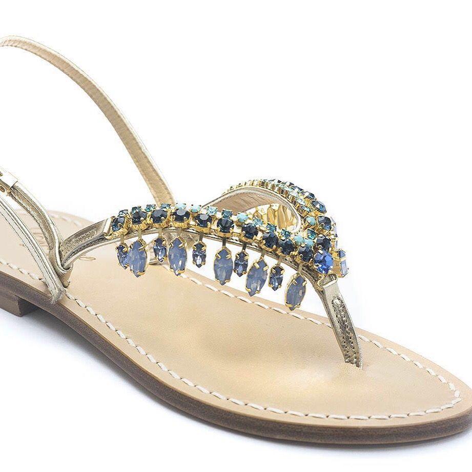Sandali Positano fatti a mano , sandali capresi e sandali Sorrento Amalfi  coast