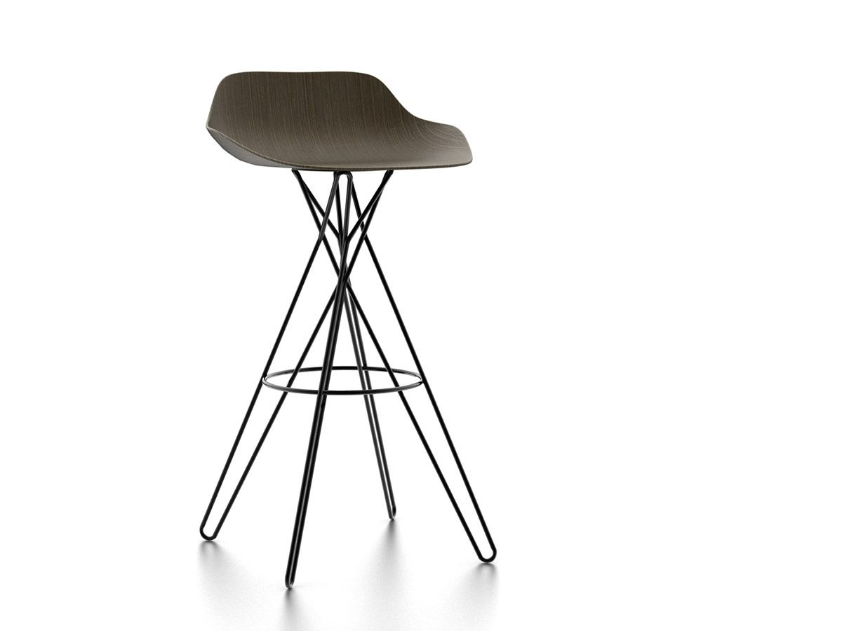Home products chairs ics ipsilon - Harmony Stool Mixes The Concepts Of Chaos And Order This Beautiful High Stool Produced By Poliform And Designed By Rodrigo Torres Was Presented A