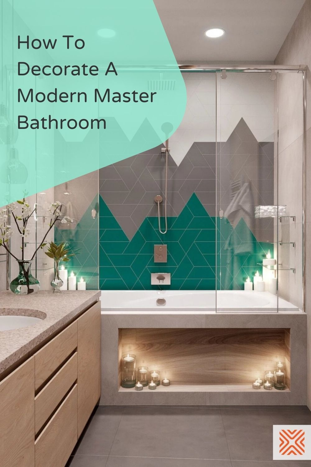 When it comes to decorating a master bathroom, there is a lot you can do. Since modern bathroom design tends to be minimalistic and sleek, you don't want to go overboard with decorations. Here are 10 decorating ideas that will ensure you keep that modern feel in your master bathroom.
