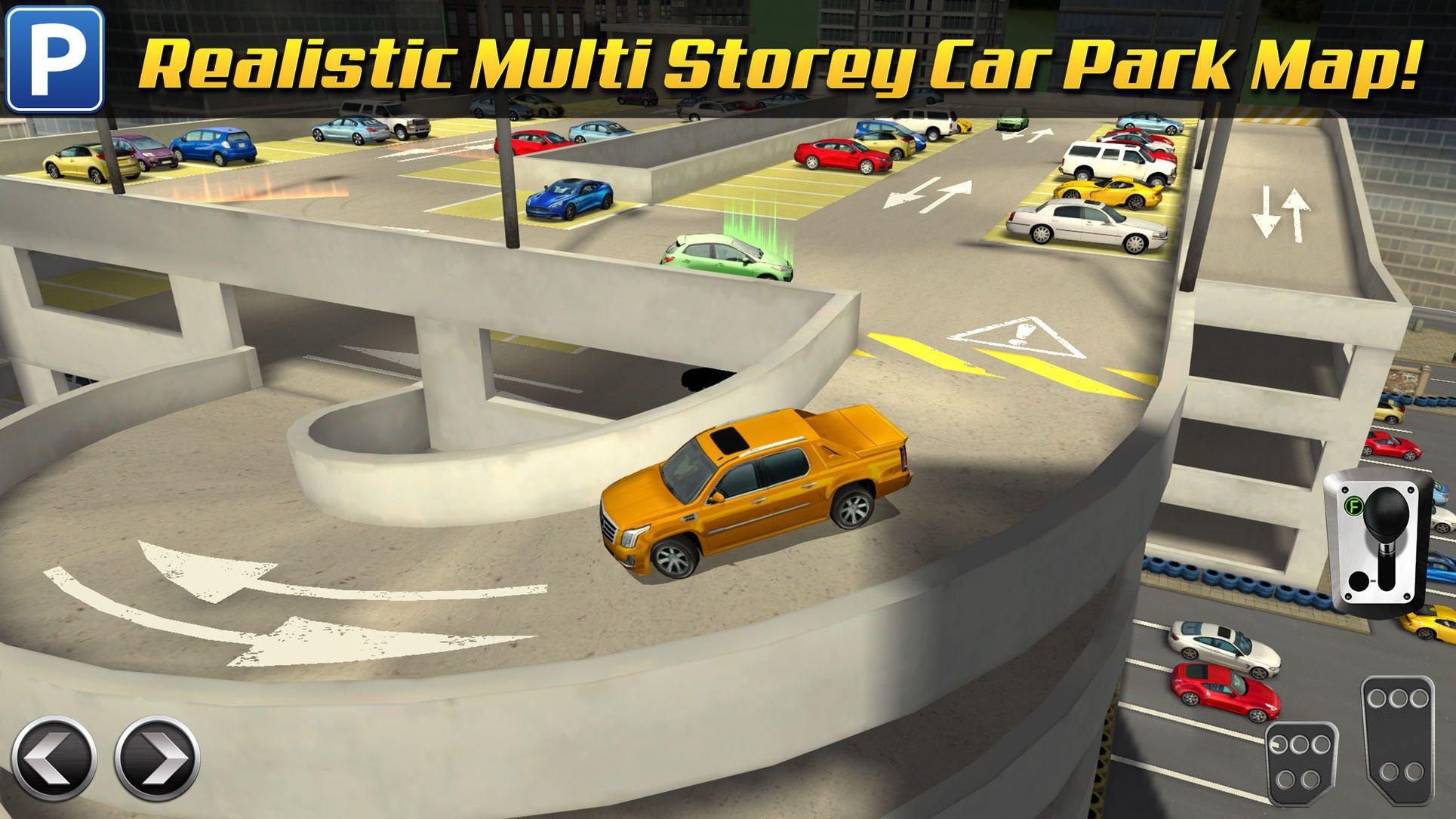 Real Driving Games >> Multi Level 3 Car Parking Game Real Driving Test Run Racing Run