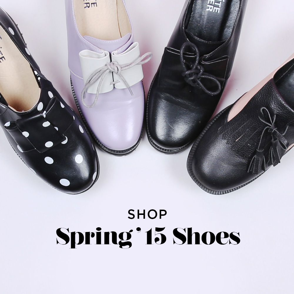 A new season calls for a new shoe collection! Make a #statement as you step out in the sun with our #Spring '15 #Shoes... www.thewhitepepper.com/collections/shoes