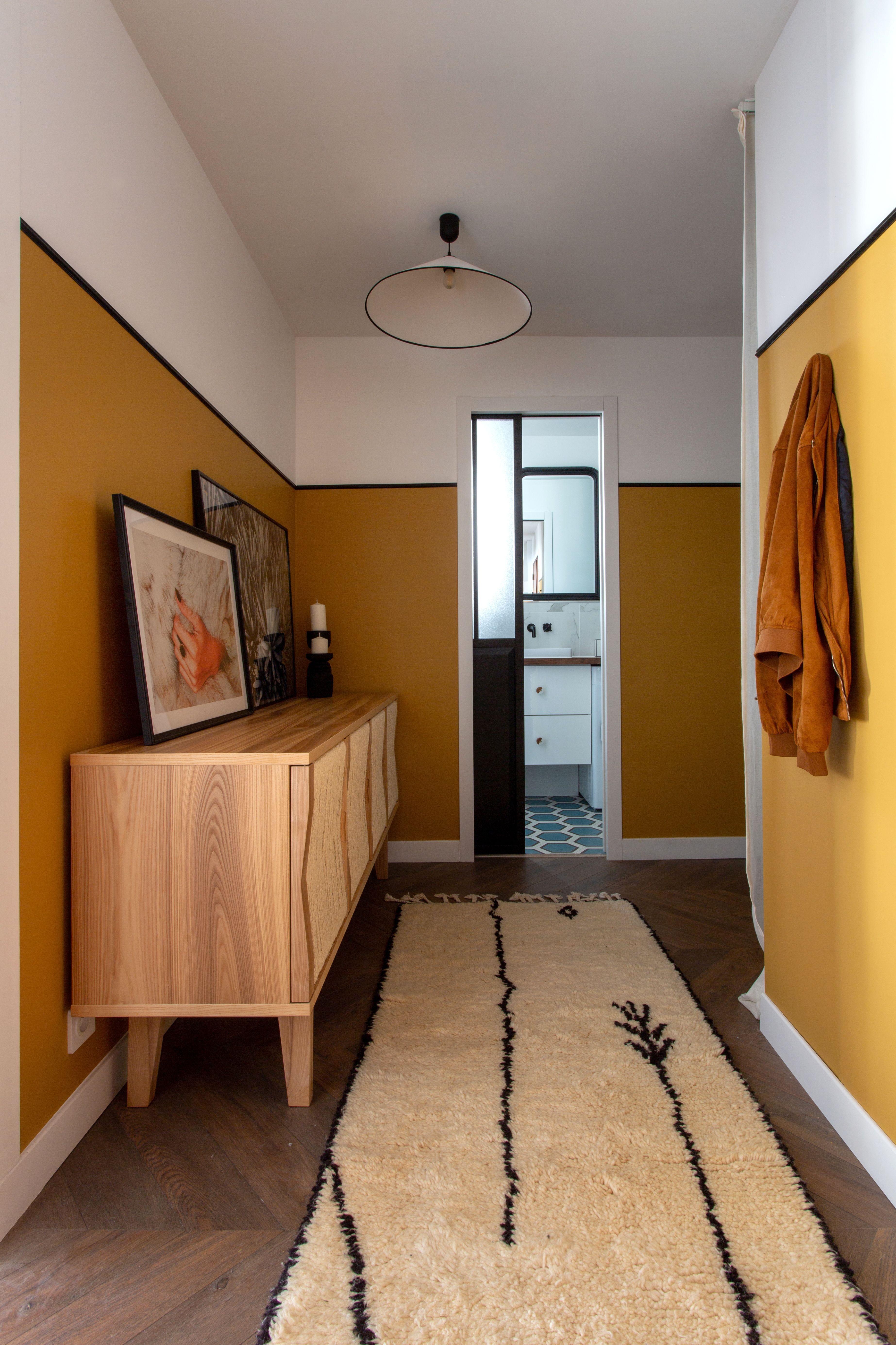 Photo of A 460-Square-Foot Paris Pied-à-Terre's Color Palette Is Perfect
