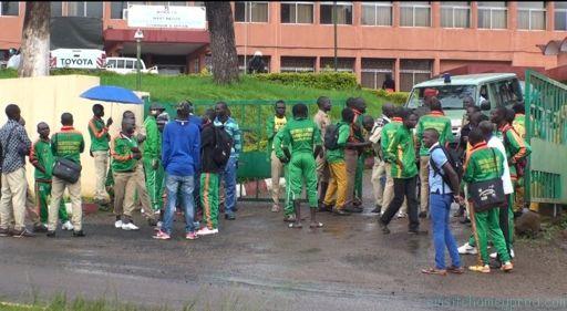 Cameroun Bafoussam Plus De 700 Etudiants Dans La Rue Cameroun Etudiant Rue