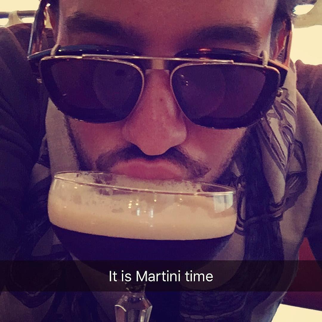 #itsmartinioclock #martini #espresso #saturdaymorning #Bahadiring #shadeson 24/7  by emirbahadir