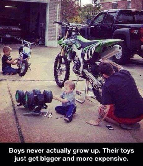Boys Will be Boys at any age