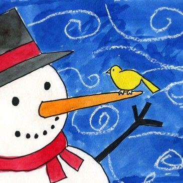 Little Birdy Snowman