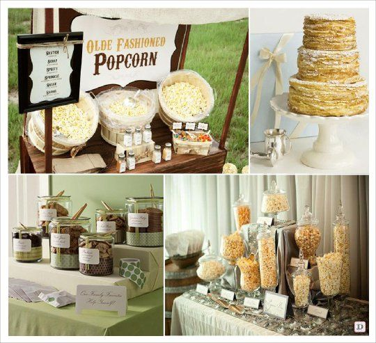 candy bar pop corn crepe cookies sweet tables. Black Bedroom Furniture Sets. Home Design Ideas