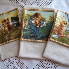 Etui portable / pochette voyage chat vendu à l'unité 11 x 19 cm