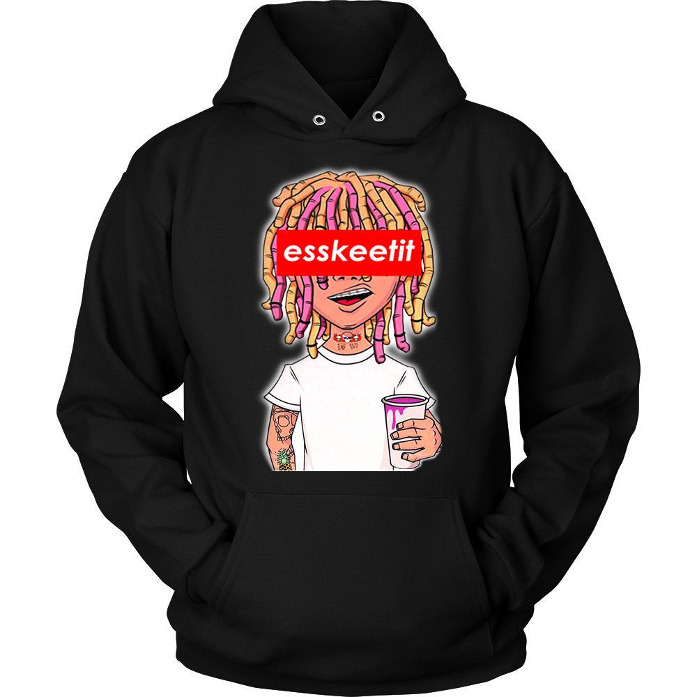 b6973e3c149 Details about Lil Pump Pullover Hoodie Esskeetit Great Quality ...