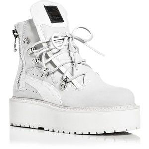 fenty puma platform sneakers