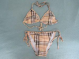 Burberry plaid bikini in Clothing, Shoes & Accessories, Women's Clothing,  Swimwear