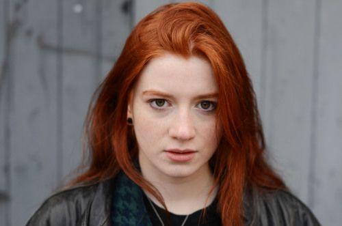Irischer Sänger Rote Haare