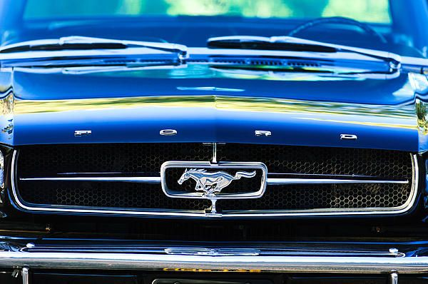 1965 Shelby Prototype Ford Mustang Grille Emblem By Jill Reger Mustang Grille Ford Mustang Mustang