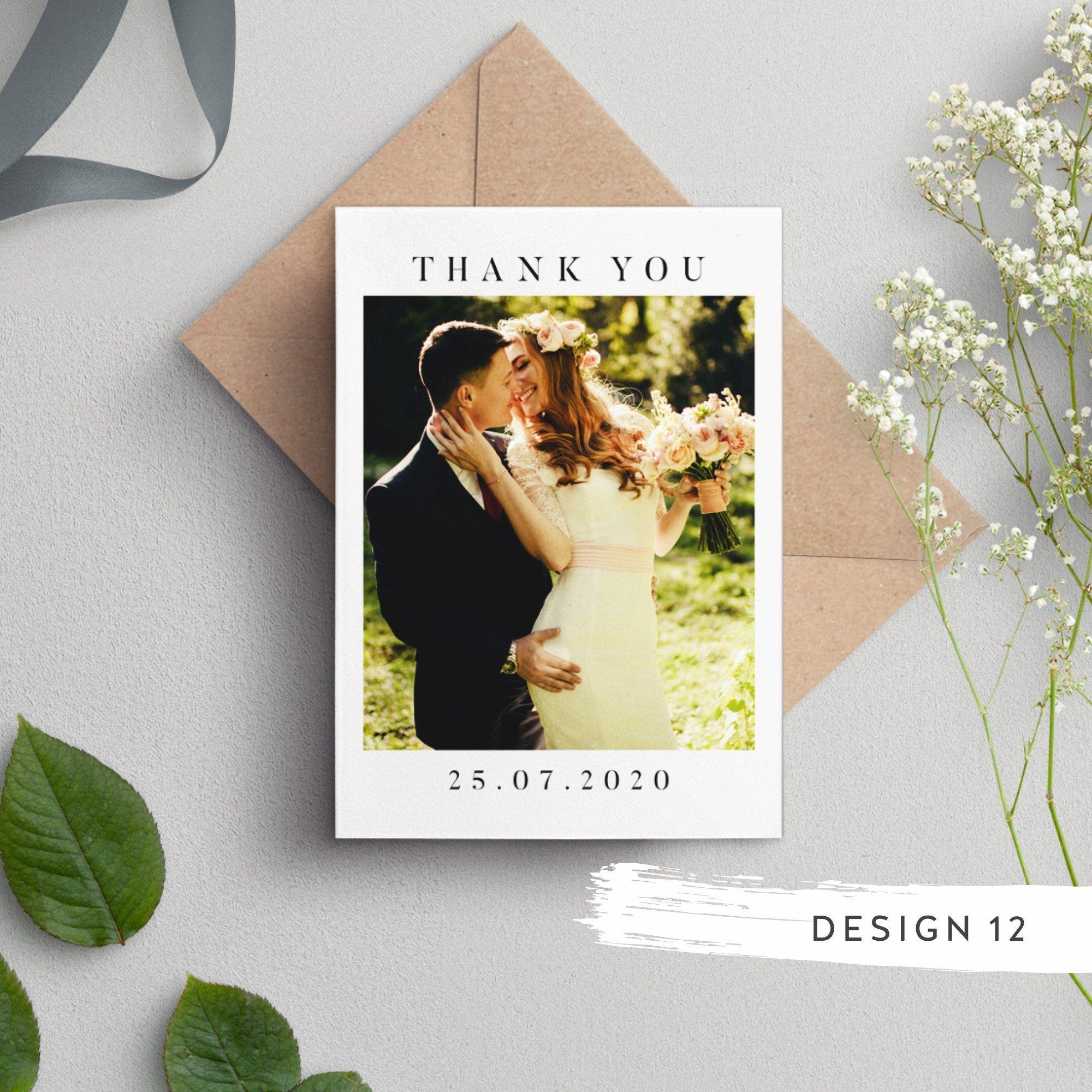 Wedding Thank You Cards With Photo, Thankyou Cards, Photo Thank You Card, Photo Card, Thankyou Cards Wedding, Photo Thank You Card, #087#card #cards #photo #thankyou #wedding