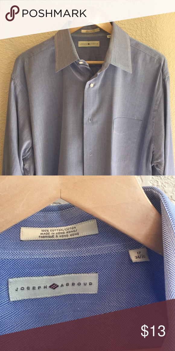 Joseph Abboud Men S Dress Shirt Shirt Dress Blue Shirt Dress