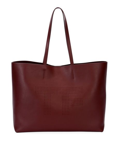 0d893fab80 TOM FORD Saffiano Leather T Tote Bag, Dark Red. #tomford #bags #shoulder  bags #hand bags #leather #tote #