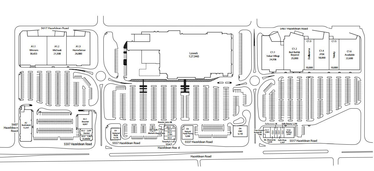 Grant Crossing shopping plan Ontario city, Stittsville